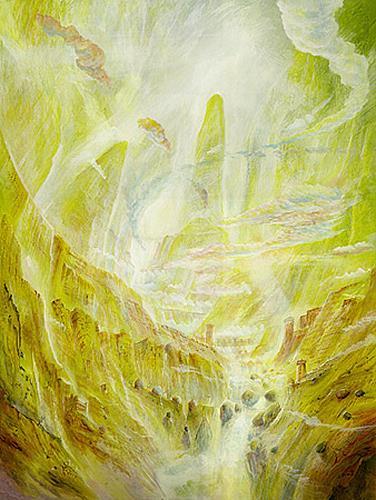 Silvian Sternhagel, Lichtfluss, Architecture, Decorative Art, Impressionism