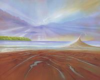 Silvian-Sternhagel-Landscapes-Beaches-Nature-Water-Modern-Age-Naturalism