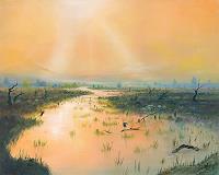 Silvian-Sternhagel-Landscapes-Sea-Ocean-Miscellaneous-Romantic-motifs-Modern-Age-Naturalism
