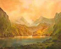 Silvian-Sternhagel-Landscapes-Mountains-Landscapes-Summer-Modern-Age-Impressionism-Neo-Impressionism