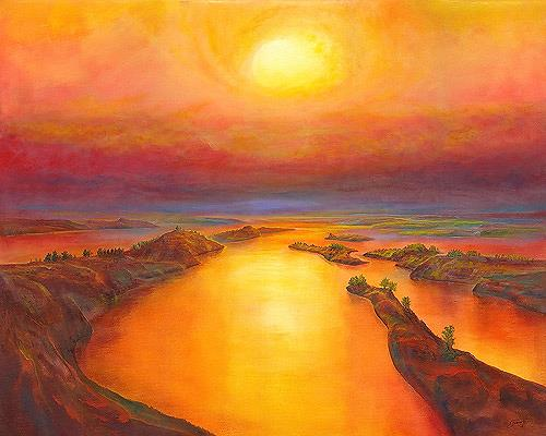 Silvian Sternhagel, Farboase, Landscapes: Sea/Ocean, Landscapes: Summer, Neo-Impressionism
