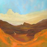 Silvian-Sternhagel-Landscapes-Mountains-Landscapes-Sea-Ocean-Modern-Age-Impressionism