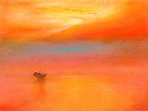 Silvian Sternhagel, Element Farbe, Fantasy, Romantic motifs: Sunset, Expressionism
