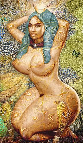 Merovee Art Mythology Erotic motifs: Female nudes Contemporary Art