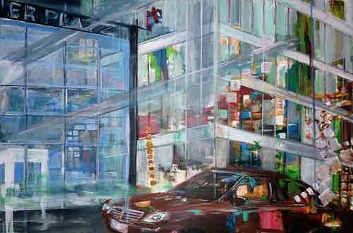 Ute Heitmann, N/T, Traffic: Car, Movement, Contemporary Art