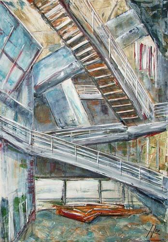 Ute Heitmann, Freie Akademie, Architecture, Contemporary Art