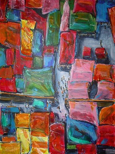 Ute Heitmann, Mexico Makrt, Market, Miscellaneous, Contemporary Art