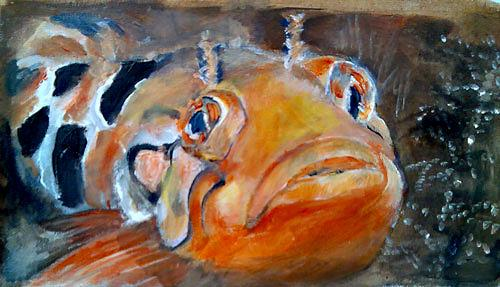 Ute Heitmann, clipfish I, Animals: Water, Contemporary Art