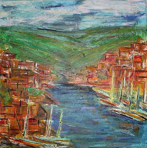 Ute Heitmann, italien 2004, Landscapes: Sea/Ocean, Landscapes: Hills, Contemporary Art