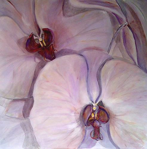 Ute Heitmann, Orchideen, Plants: Flowers, Miscellaneous Erotic motifs