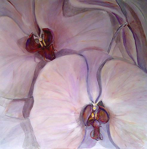 Ute Heitmann, Orchideen, Plants: Flowers, Miscellaneous Erotic motifs