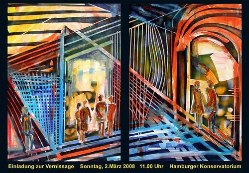 Ute Heitmann, Einladung, Miscellaneous Music, Contemporary Art