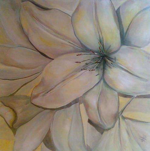 Ute Heitmann, Lillien, Plants: Flowers, Miscellaneous, Contemporary Art