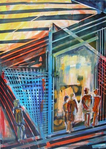 Ute Heitmann, Jazz IV Teil   I, Abstract art, Miscellaneous Music, Contemporary Art