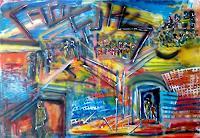 Ute-Heitmann-Abstract-art-People-Group
