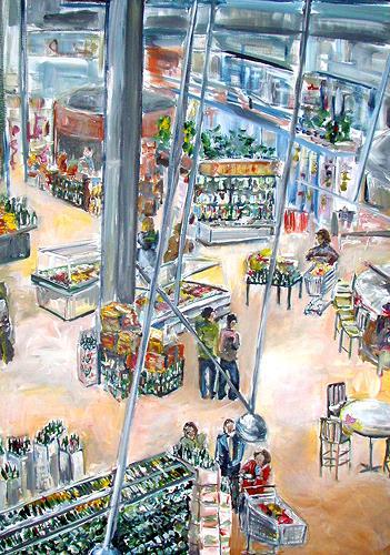 Ute Heitmann, Supermarkt, USA Florida, Society, Situations, Contemporary Art