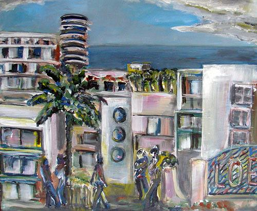 Ute Heitmann, Miami, Miscellaneous Buildings, Situations, Contemporary Art
