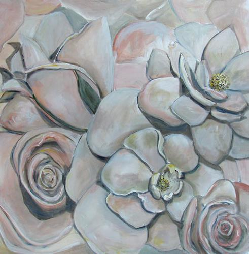 Ute Heitmann, Rosen, Plants: Flowers, Contemporary Art