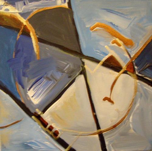 Ute Heitmann, Move III, Abstract art, Movement