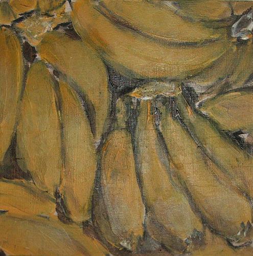Ute Heitmann, Bananen, Harvest, Meal, Contemporary Art