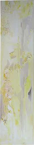 Ute Heitmann, yellow one, Abstract art, Decorative Art, Contemporary Art