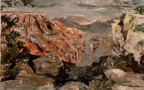Ute Heitmann, Grand Canyon, Landscapes: Mountains, Nature: Rock, Contemporary Art