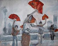 Ute-Heitmann-Movement-People-Group-Contemporary-Art-Contemporary-Art