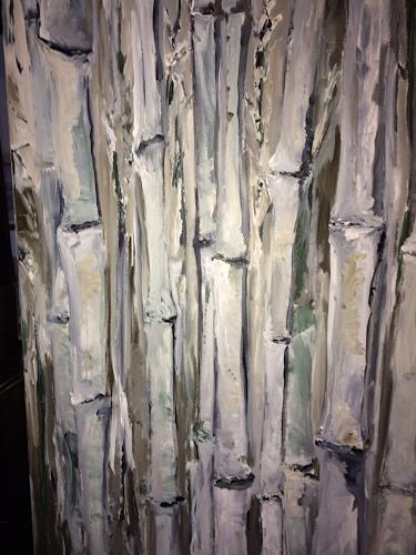 Ute Heitmann, Bambuu, Abstract art, Mythology, Contemporary Art