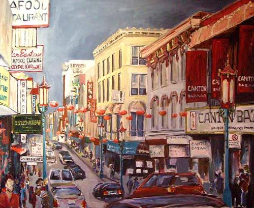 Ute Heitmann, Chinatown San Francisco, Miscellaneous Buildings, Situations, Contemporary Art