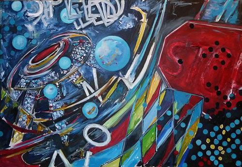 Ute Heitmann, Speedzone, Movement, Society, Contemporary Art