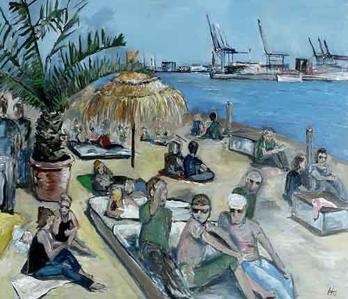 Ute Heitmann, Beach Club Hamburg, People: Group, Society