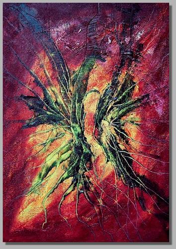 Ruth Batke, Selfprotection, Abstract art