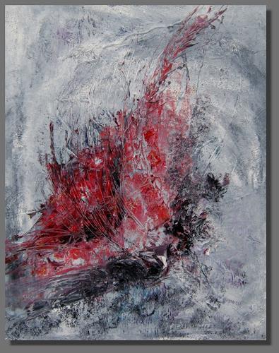 Ruth Batke, Zeit heilt keine Wunden, Abstract art