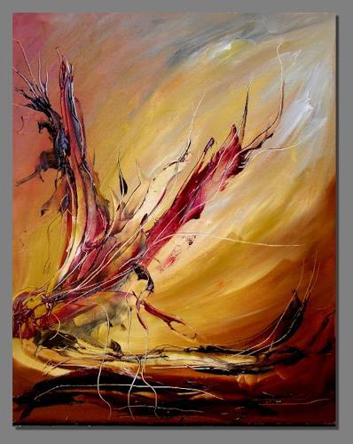 Ruth Batke, N/T, Abstract art, Expressionism