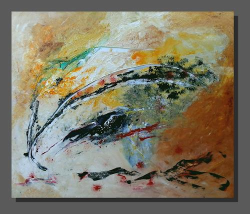 Ruth Batke, just another day, Abstract art