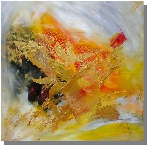 Ruth Batke, Gold, Abstract art
