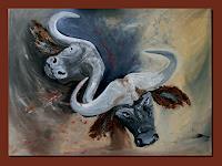 Ruth-Batke-Abstract-art-Animals-Land