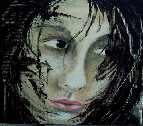 Ruth Batke, cute, People: Women, Contemporary Art, Expressionism