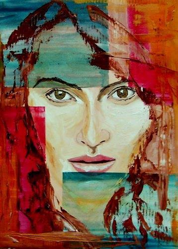 Ruth Batke, N/T, People: Women, People: Faces, Contemporary Art