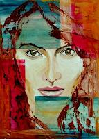 Ruth-Batke-People-Women-People-Faces-Contemporary-Art-Contemporary-Art