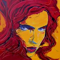 Ruth-Batke-People-Women-Modern-Age-Abstract-Art