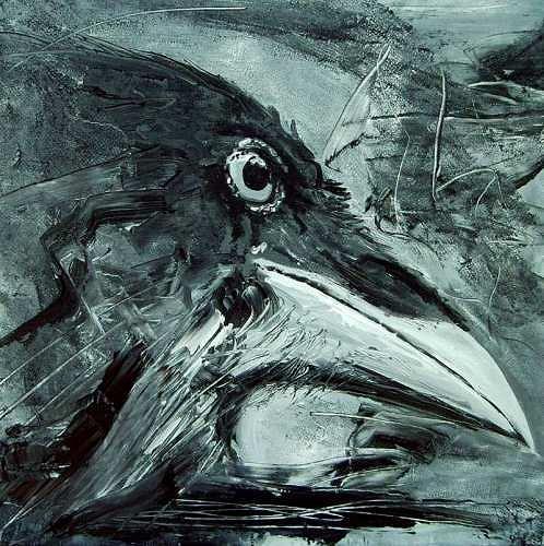 Ruth Batke, The messenger 2, Mythology, Contemporary Art