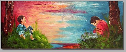 Ruth Batke, how´s the weather ?, Emotions: Depression, Emotions: Joy, Contemporary Art