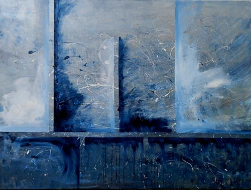 Ruth Batke, N/T, Abstract art, Abstract Art, Abstract Expressionism