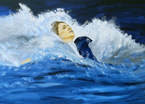 Ruth Batke, Nach Dir die Sintflut, Abstract art, Abstract Art, Abstract Expressionism