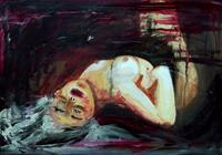Ruth Batke Art Erotic motifs: Female nudes Emotions: Grief Contemporary Art