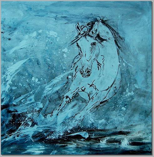 Ruth Batke, N/T, Movement, Abstract Art, Expressionism