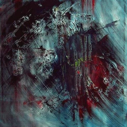 Ruth Batke, I can feel your pain, Abstract art, Emotions: Depression, Abstract Expressionism