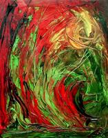 Ruth Batke Art Abstract art Emotions: Fear