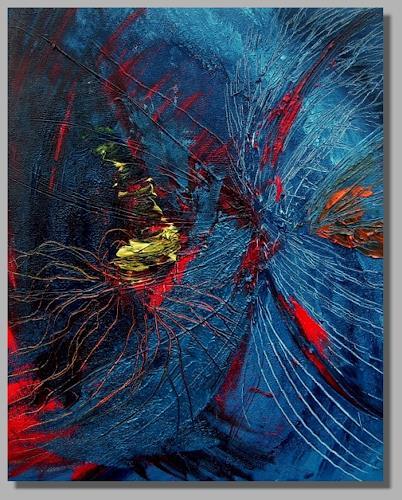 Ruth Batke, ufo day, Abstract art